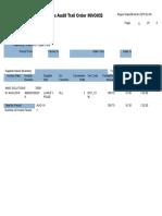 Tax Audit Trail Report Sample