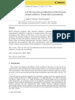 BFA302 Assessment 1 Article