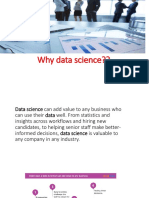 Why Data Science