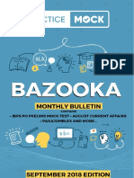 PracticeMock Bazooka September 2018 Edition