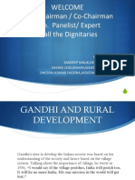 ROLE OF WATER AND ENERGY IN ACHIEVING THE DEVELOPMENT GOAL FOR RURAL TRANSFORMATION
