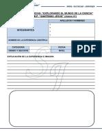 Formato de Inscripción de Ciencias