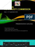 National Road Safety Commission - BILAN