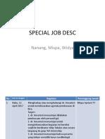 Special Job Desc
