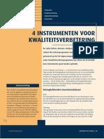 4 instrumenten voor kwaliteitsverbetering