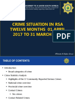 Saps presentation April to March 2017/18