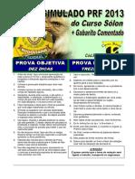 Prf2013simulado Cursosolon.com.Br