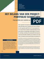 Belang Van Een Project Portfolio Scorecard Mt20040307