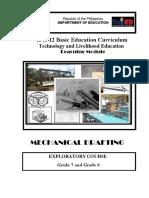 161132203 k to 12 Mechanical Drafting Learning Module 1 PDF