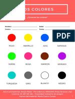 Aprendo Los Colores