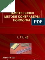 Dampak Buruk Kb Hormonal