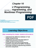 Chap 10 Integer, Goal, And Nonlinear Programming.ppt