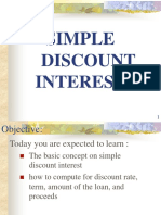 4. Simple Discount Interest.ppt