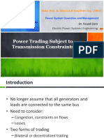 6- Power Trading Subject to Transmission Constraints