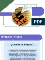 3.3. ENSAYO