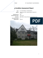 Building Condition Assessment Nurses Residence 1 Administration