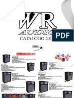 Catalogo Wr Audio 2017