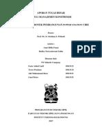 TUGAS BESAR EKONOMI TEKNIK - INSTITUT TEKNOLOGI BANDUNG (ITB) - PT SKIP SOLUTION