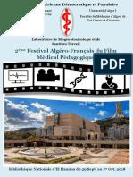 2ème Festival Algéro-Français du Film Médical Pédagogique