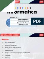 Informatica Presentation