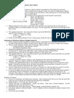 Bredesen Balancing the Budget Fact Sheet