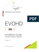 EVOHD Manual de Instalare