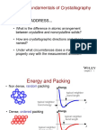Fundamentals of Crytallography.ppt