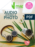 ON mag - Guide audio nomade & photo 2018