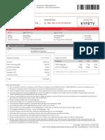 Flight E-Ticket - KYF8TV