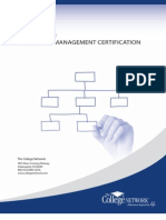 The Benefits of Project Management Certification