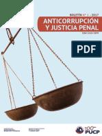 Anticorrupción y justicia penal - Boletín N°1