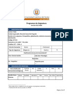 Programa de Asignatura FGE