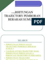 Perhitungan Trajectory Sumur y