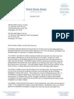 Sen Jeff Merkley Foreclosure Letter 06 Oct 2010