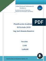 Planificación IIIP_2018 Completa Para Plataforma