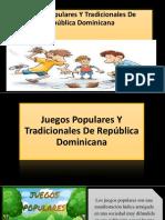 Juegos Populares Y Tradicionales de República Dominicana [Autoguardado]