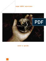 ADSL Service User Manual- En