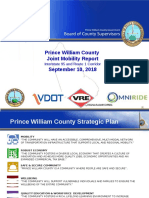 Prince William County I-95 Transportation Mega Town Hall Presentations