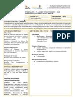 Guia de Aprendizagem de Língua Portuguesa - 3º Ano - 3º Bimestre