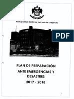 Plan de Preparacion de Sjl
