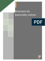 Dicionario de Expressões Latinas