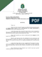 1 Sentença - Revisional - Contratos - Capitalização - Juros -  terceiros - TAC - contestação Improcedência - Liminar indeferida - 45632-74.odt