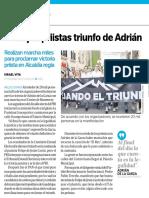 10-09-18 Festejan priistas triunfo de Adrián
