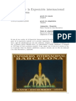 Carteles de la Exposición internacional de Barcelona.docx