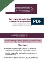Ponencia Carrera Docente Encuentro en FLACSO - Ecuador- CINTHIA CHIRIBOGA