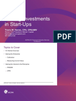 Valuing Start Ups Aicpa Bv Twh