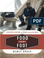 Food on Foot - A History of Eating on Trails and in the Wild