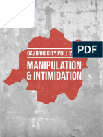 Gazipur City Poll-2018