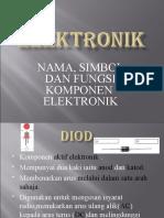 ELEKTRONIK (ELEKTIF) asri