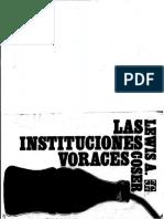 Instituciones voraces-Lewis Coser